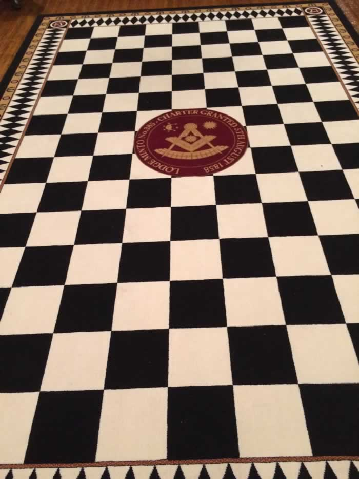 Lodge Minto No.385 New Carpet