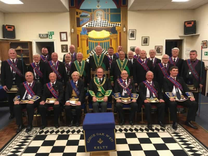 PGM in his Mother Lodge